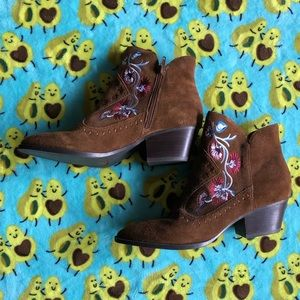 """""""Cowgirl"""" Booties"""